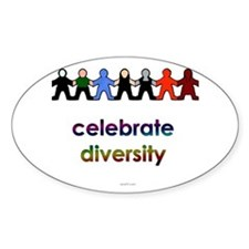 Diversity Oval Decal