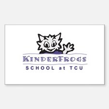 KindreFrogs Rectangle Decal