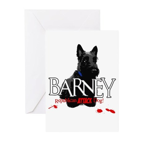 Barney Greeting Cards (Pk of 10)