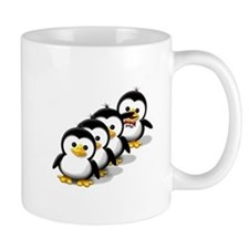 Flock of Penguins Small Mugs