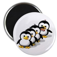 Flock of Penguins Magnet
