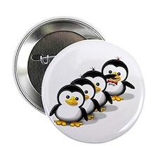 "Flock of Penguins 2.25"" Button (100 pack)"