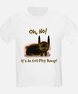 Evil Plot Bunny Kids T-Shirt