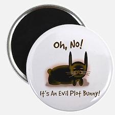 Evil Plot Bunny Magnet