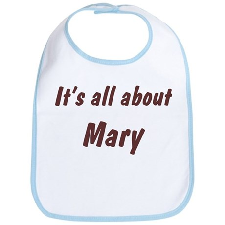 Personalized Mary Bib