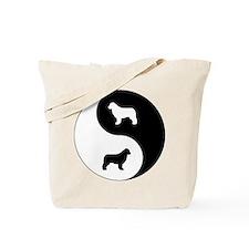 Yin Yang Newfie Tote Bag