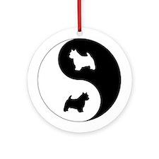Yin Yang Norwich Ornament (Round)
