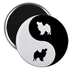 Yin Yang Papillon Magnet