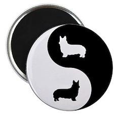 Yin Yang Pembroke Magnet