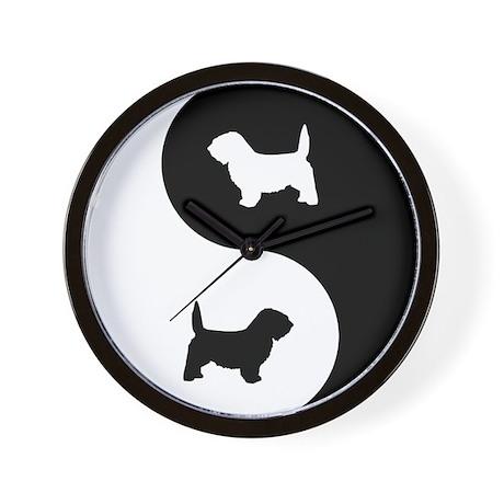 Yin Yang PBGV Wall Clock