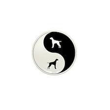Yin Yang Pointer Mini Button (100 pack)