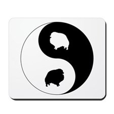 Yin Yang Pomeranian Mousepad