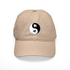 Yin Yang Pug Baseball Cap
