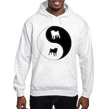 Yin Yang Pug Hoodie