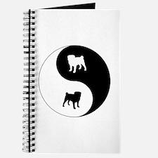 Yin Yang Pug Journal