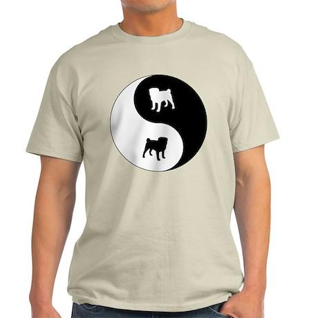 Yin Yang Pug Light T-Shirt