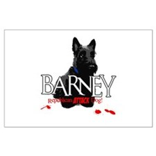 Barney Large Poster