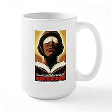 Information Is Terrorism! Large Mug