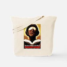 Information Is Terrorism! Tote Bag