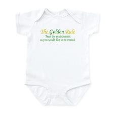 (Green) Golden Rule Infant Bodysuit