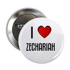 I LOVE ZECHARIAH Button