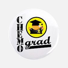 """Chemo Grad Sarcoma 3.5"""" Button"""