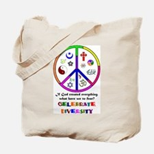 Embrace Creation Tote Bag