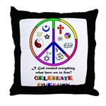 Embrace Creation Throw Pillow