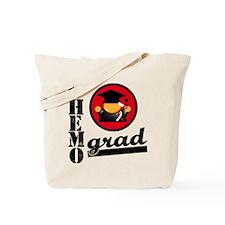 Chemo Grad Oral Cancer Tote Bag
