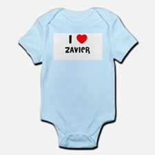 I LOVE ZAVIER Infant Creeper