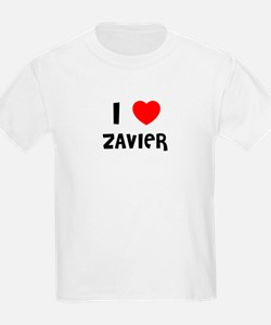 I LOVE ZAVIER Kids T-Shirt