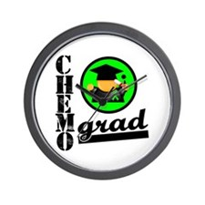 Chemo Grad Lymphoma Wall Clock