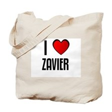 I LOVE ZAVIER Tote Bag