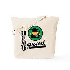 Chemo Grad Liver Cancer Tote Bag
