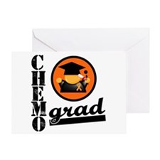 Chemo Grad Leukemia Greeting Card