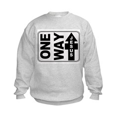 One Way Jesus Christian Sweatshirt