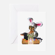 Easter Bunny Lily Greeting Cards (Pk of 20)