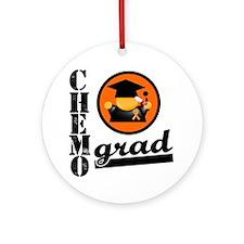 Chemo Grad KidneyCancer Ornament (Round)