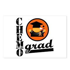 Chemo Grad KidneyCancer Postcards (Package of 8)
