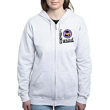 Chemo Grad Cancer Zip Hoodie