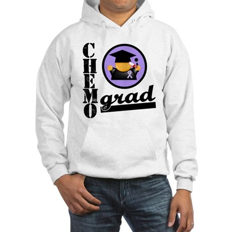 Chemo Grad Cancer Hooded Sweatshirt