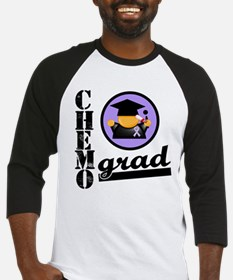 Chemo Grad Cancer Baseball Jersey