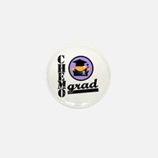 Chemo Grad Cancer Mini Button (10 pack)