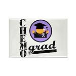Chemo Grad Cancer Rectangle Magnet (100 pack)