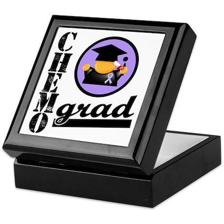 Chemo Grad Cancer Keepsake Box