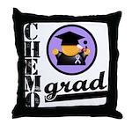 Chemo Grad Cancer Throw Pillow