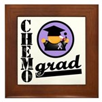 Chemo Grad Cancer Framed Tile