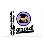 Chemo Grad Cancer Postcards (Package of 8)