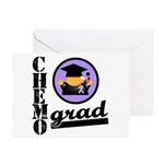 Chemo Grad Cancer Greeting Cards (Pk of 20)