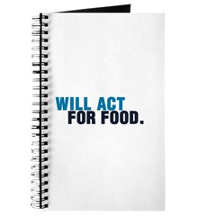 Will Act For Food Journal
